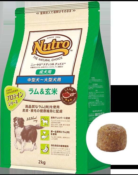 ナチュラル チョイス™中型犬~大型犬用 [成犬用] ラム&玄米